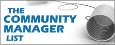 The Community Manager List