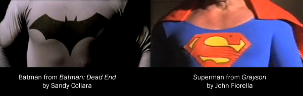 Superhero Costumes in Fan Films